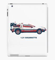 1.21 gigawatts iPad Case/Skin