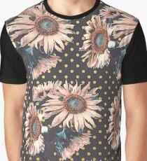 Sunflowers dots Graphic T-Shirt