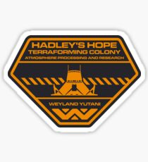 Aliens - Hadleys Hope Sticker