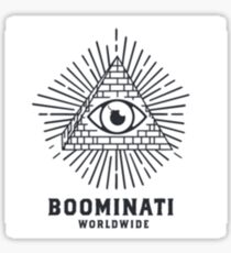 Boominati Worldwide Sticker