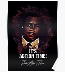 It`s Action Time - Sgt. Jericho 'Action' Jackson - Carl Weathers Poster
