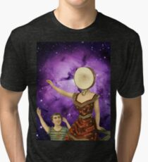 In the Nebula Over the Sea Tri-blend T-Shirt