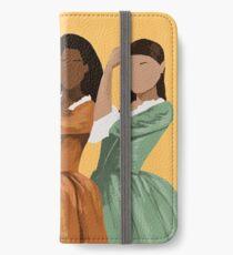 Schuyler Schwestern iPhone Flip-Case/Hülle/Klebefolie