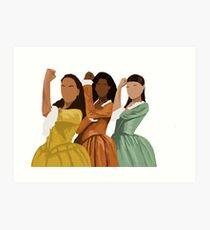 Schuyler Sisters Art Print