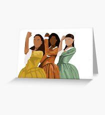 Schuyler Schwestern Grußkarte