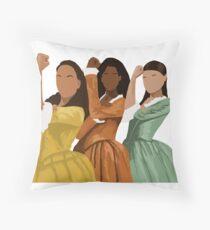 Schuyler Sisters Throw Pillow