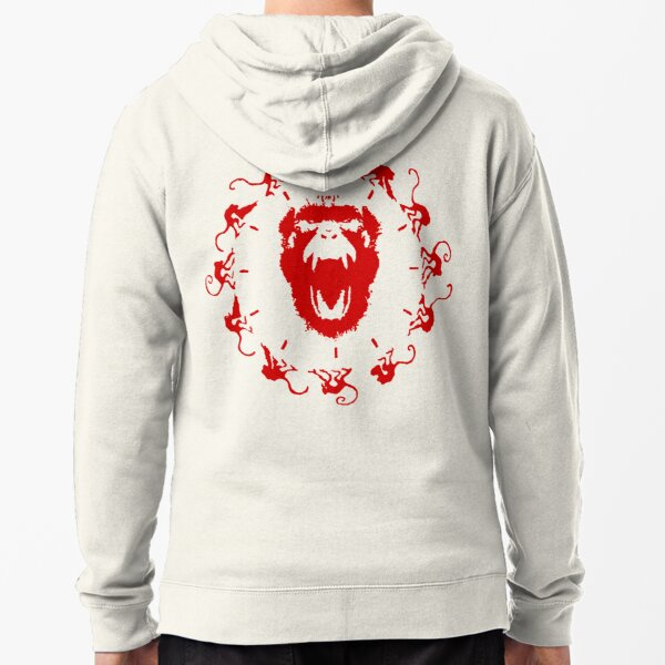 Army of the 12 Monkeys Zipped Hoodie