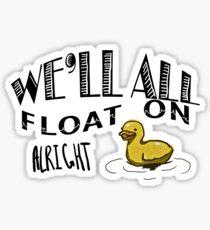 Float On Sticker