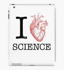 I Love Heart Science - Biology iPad Case/Skin