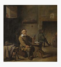 The Old Beer Drinker 1640 - 1660 David Teniers the Younger Photographic Print