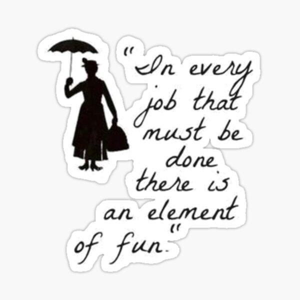 Mary Poppins Practicall Parfait 4 Sticker