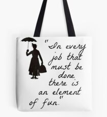 Mary Poppins Practicall Perfect 4 Tote Bag