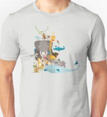 Buchstabensalat - Tiere von A bis Z T-Shirt