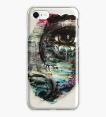 Coloured and Plastered iPhone Case/Skin