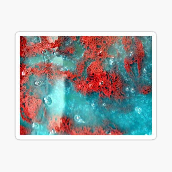 Coral in Print Sticker