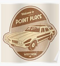 Welcome to Point Place Poster