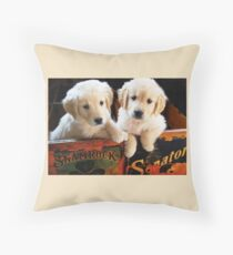 """Boxed In"" Throw Pillow"