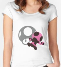 Toadette - Sunset Shores Women's Fitted Scoop T-Shirt