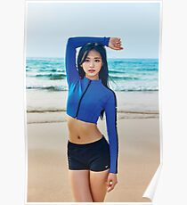 Tzuyu - Beach Poster
