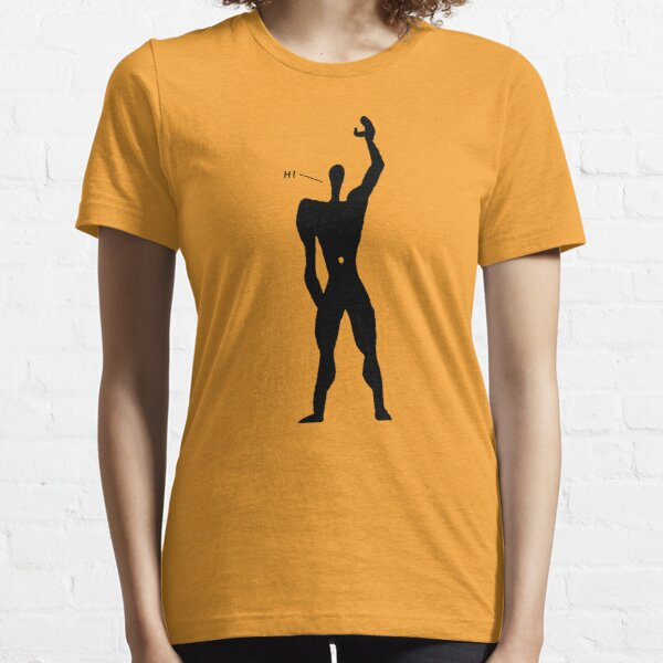 Le Corbusier - The Friendly Modular Man Essential T-Shirt
