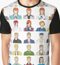 David Bowie – Head and Shoulders Above The Rest Graphic T-Shirt