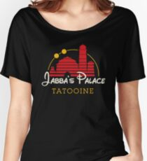 Jabba's Palace (dark version) Women's Relaxed Fit T-Shirt