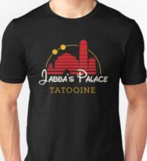 Camiseta ajustada Palacio de Jabba (versión oscura)
