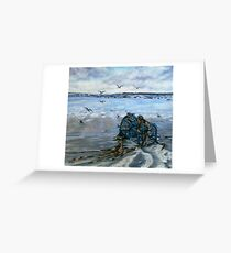 """Lahinch Beach, County Clare, Ireland"" Greeting Card"