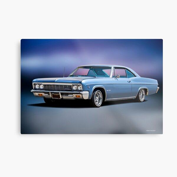 1966 Chevrolet Impala SS Metal Print