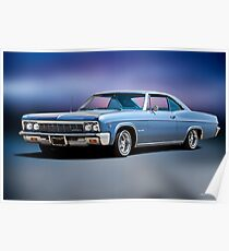 1966 Chevrolet Impala SS Poster