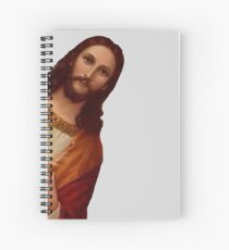 Jesus is Watching Meme Spiral Notebook