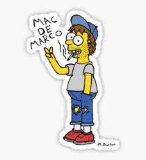 Simpson DeMarco (colour)  Sticker