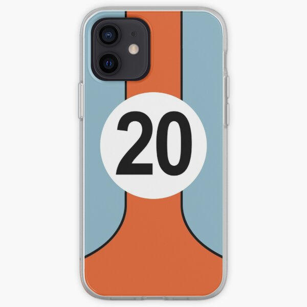 Racing Colours No20 iPhone Soft Case