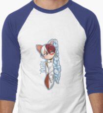 Fox Todoroki Men's Baseball ¾ T-Shirt