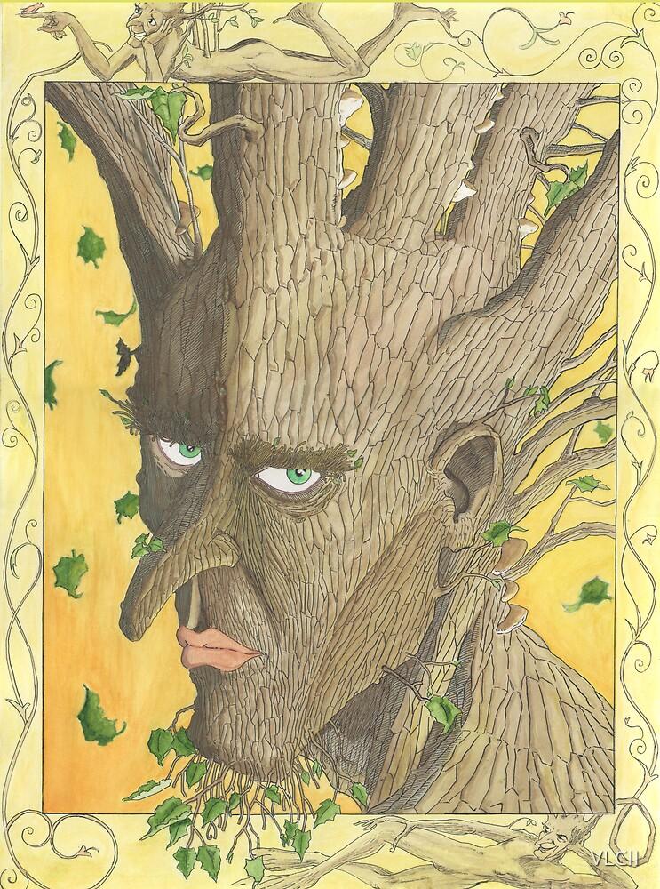 Potrait of an adolescent Tree-man by VLCII