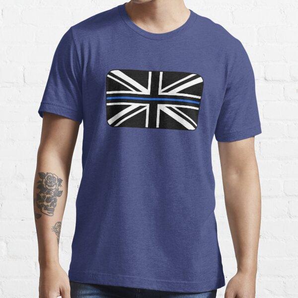 Thin Blue Line Union Jack UK Flag Essential T-Shirt