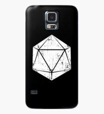 d20 In Not (weiß) Hülle & Skin für Samsung Galaxy
