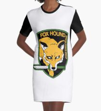 Metal Gear Solid - FOXHOUND Graphic T-Shirt Dress