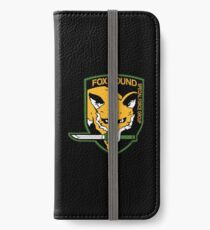 Metal Gear Solid - FOXHOUND iPhone Wallet/Case/Skin
