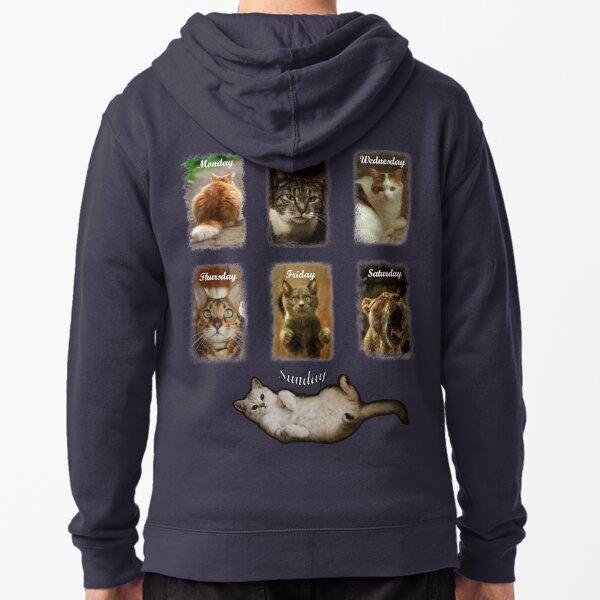 My Cat-Week Veste zippée à capuche