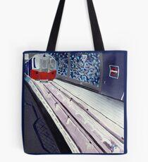 Underground Blues Tote Bag