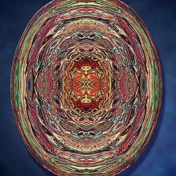 Red Heads Under Glass by lunarimage