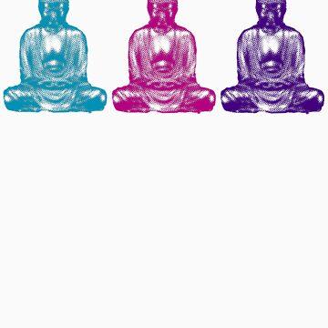 three buddhas by sushi4breakfast