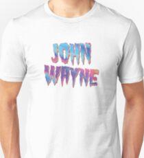 Camiseta unisex Estampado de letra de Lady Gaga 'John Wayne'