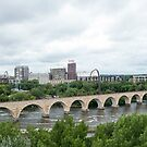 Historic Stone Arch Bridge - Minneapolis, MN, USA by wolftinz