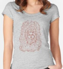 The Idiot Sun Women's Fitted Scoop T-Shirt