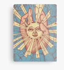 The Idiot Sun Metal Print