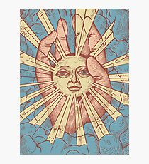 The Idiot Sun Photographic Print