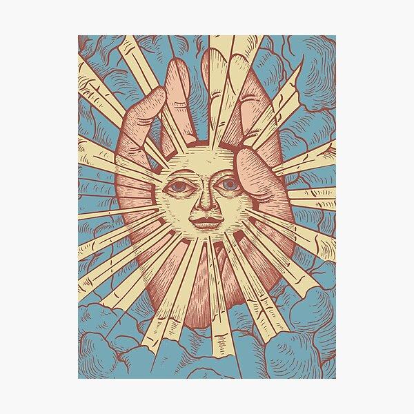 The Idiot Sun Photographic Print