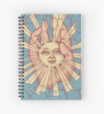 The Idiot Sun Spiral Notebook